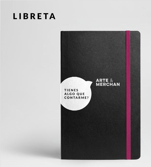 regalos personalizados-Arte y Merchan-libreta